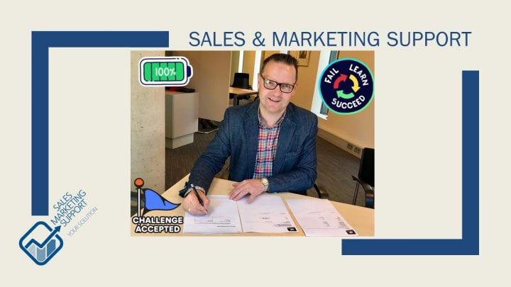 Inschrijving kvk Sales & Marketing Support