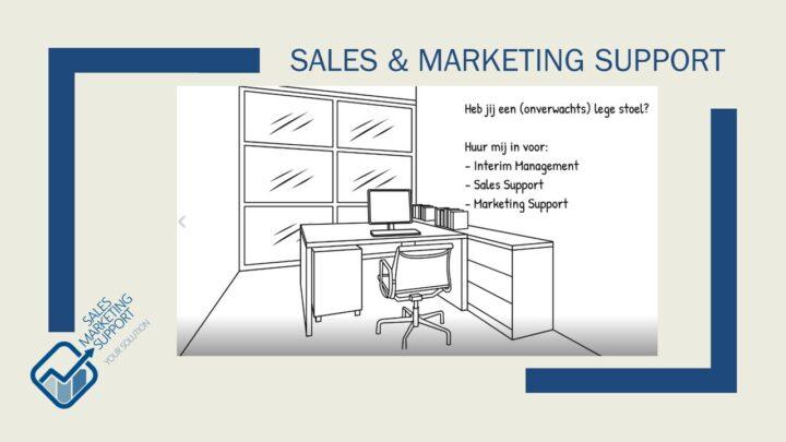 Interim sales & marekting Support